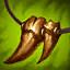 Colar de Presas (Verde) (3 Troféus) item