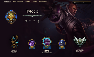 Honor Profile Layout