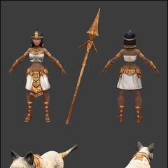 Koncept aktualizacji modelu Nidalee Faraon 2