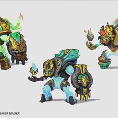 Worldbreaker Maokai Concept 2 (by Riot Artist <a href=