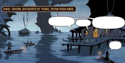 Thonx Zed Comic