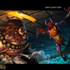 Spirit Guard Udyr Comic Concept 4 (by Artists <a rel=