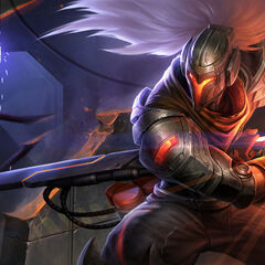PROJECT Yasuo Splash Concept (by Riot Artist <a href=