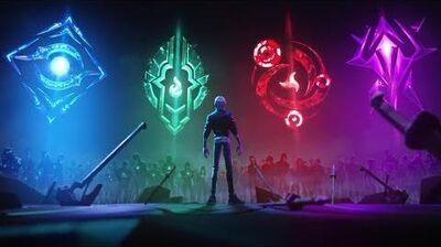 Сражайтесь за своих Анимационный трейлер Испытаний середины сезона – League of Legends