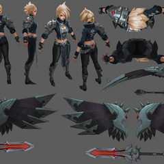 Pentakill Kayle Model 4 (by Riot Artists <a href=