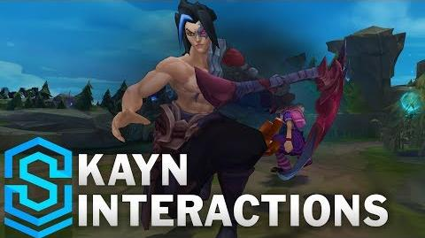 Kayn/Quotes