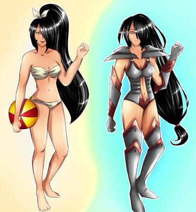 Nhan-Fiction Maki skins by ajlotus-d6j7hrk