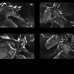 Perseus Pantheon Update Splash Concept 1 (by Riot Artist <a href=