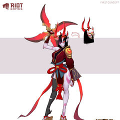 Blood Moon Sivir Concept 2 (by Riot Artist <a href=