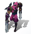Zed Shockblade (Rose Quartz)