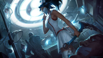 Akali Update Nurse Splash concept 05