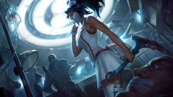Akali Update Nurse Splash concept 05