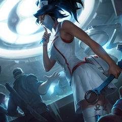 Nurse Akali Update Splash Concept 5 (by Riot Artist <a href=