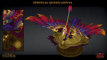 Anivia Karnevalskönigin model 02