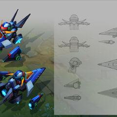 Arcade Corki Concept 1 (by Riot Artist <a href=