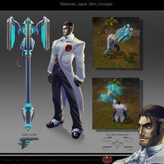 Debonair Jayce Concept (by Riot Artist <a href=