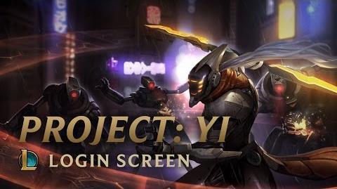 PROJEKT Yi - ekran logowania
