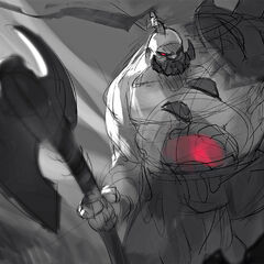 Sion Update Splash Concept 2 (by Riot Artist <a href=
