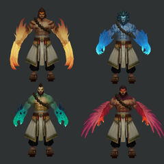 Spirit Guard Udyr Model 4 (by Riot Artist <a href=