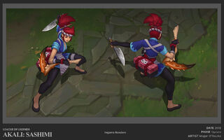Akali Update Sashimi concept 01