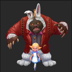 Annie in Wonderland Update Model 3 (by Riot Artist <a href=