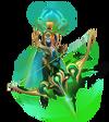 Ashe CosmicQueen (Emerald)