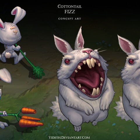 Cottontail Fizz Concept (by Riot Artist <a href=