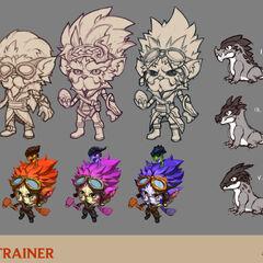 Dragon Trainer Heimerdinger Concept 1 (by Riot Artist <a href=