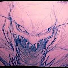 Cho'Gath Sketch (by Riot Artist <a href=
