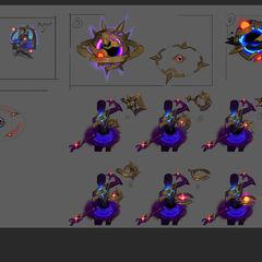 Dark Star Orianna Concept 2 (by Riot Artist <a rel=