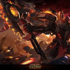 Dreadnova Darius Splash Concept 2 (by Riot Artist <a href=
