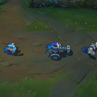 Súbditos del equipo azul