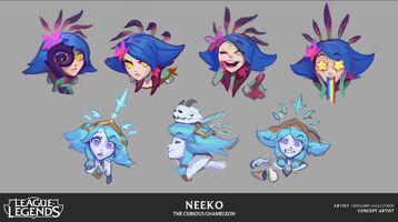 Neeko Emotes Konzept 2