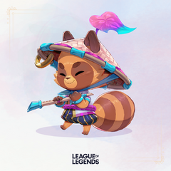 Spirit Blossom Teemo Promo 4 (by Riot Artist <a href=