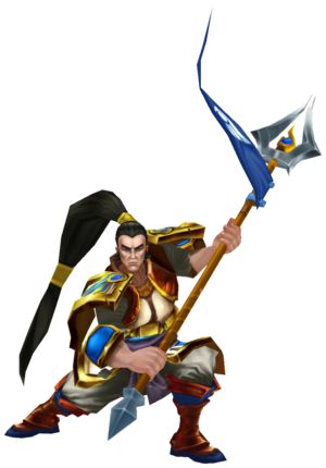 Xin Zhao Render old