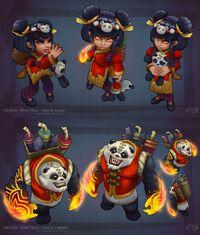 Annie Panda- Render