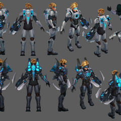 Pulsefire Ezreal Update Model 2