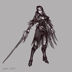 Nightraven Fiora Update Concept 2 (by Riot Artist <a href=