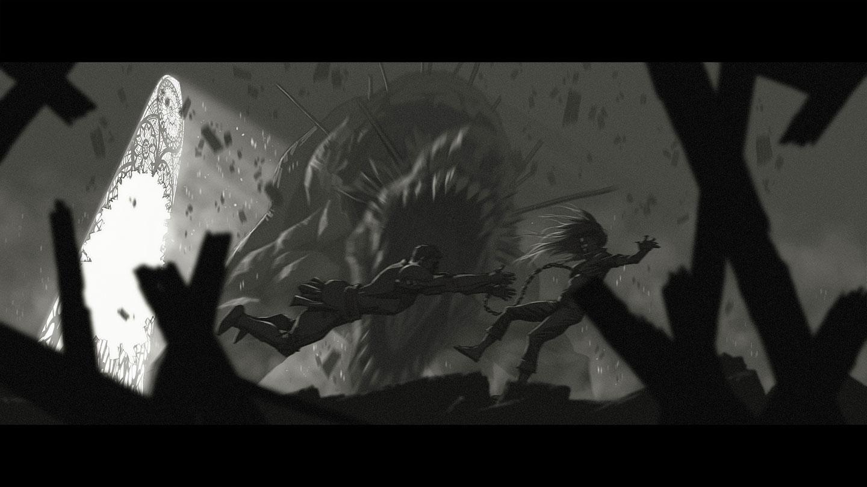 Garen Katarina EnemyofmyEnemy Cinematic concept 14