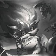 Dragon Trainer Heimerdinger Splash Concept 1 (by Riot Artist <a href=