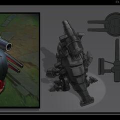 Battlecast Kog'Maw Concept 2 (by Riot Artist <a href=