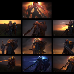 Eclipse Leona Splash Concept (by Riot Artist <a href=