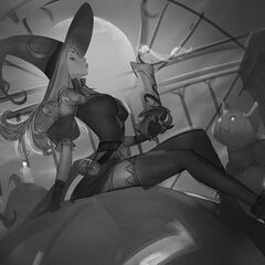 Bewitching Miss Fortune Splash Concept 4 (by Riot Artist <a rel=