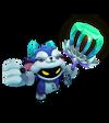 Veigar Grummelramme-Cosplay-Veigar (Aquamarin) M