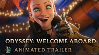 Welcome Aboard Odyssey Animated Trailer - League of Legends