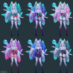 Spirit Blossom Ahri Model 10 (by Riot Artist <a href=