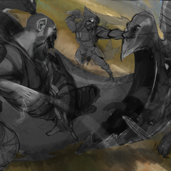 Beast Hunter Splash Concept (by Riot Artist <a href=