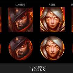 High Noon Icons Concept (by Riot Artist <a href=