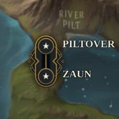 Piltover and Zaun Map 1