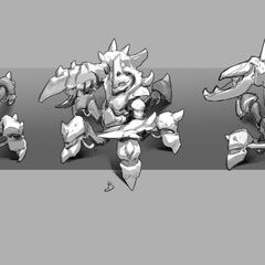 Giant Enemy Crabgot Update Concept 1 (by Riot Artist <a rel=